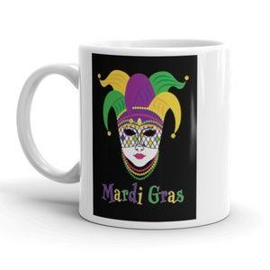 Other - 💜💚💛 Mardi Gras Coffee Mug Purple Green Gold